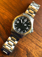 Sinn 556 A On Bracelet, Automatic, Date, Unpolished, Box and Papers, Watch. 200M
