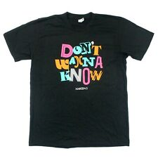 Maroon 5 Don't Wanna Know Tee - American Apparel T-Shirt - Black - L