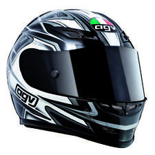 AGV GP-Tech Race Track Motorcycle Helmet Combat Black White 2XLarge XXL