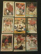 (9) card lot Patrick Roy Hockey Card Lot Montreal Canadiens lot # 1