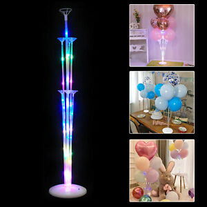1/2 Set Balloon Column Arch Base Stand Display Kit Christmas Wedding Party Decor