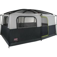 Coleman Prairie Breeze Cabin 9 Person Camping Tent with Fan & Light 14 x 10'