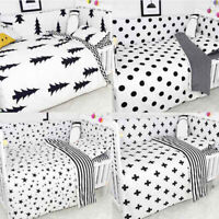 3pcs/Set Cartoon Baby Nursery Bedding Cover Kid Newborn Bed Mattress Pillowcase