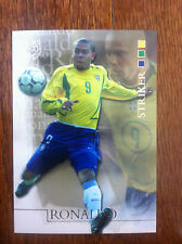 2004 Futera World Football Soccer Card- Brazil RONALDO Mint
