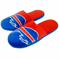 Football Colorblock Slide Slippers House Shoes Slip On New - Pick team & size