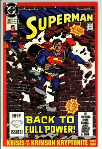 Superman #50 VF- DC (1990) -Unofficial Marvel Crossover