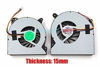New Asus ROG G750J G750JS G750JW G750JX Cooling fans Left + Right 15mm