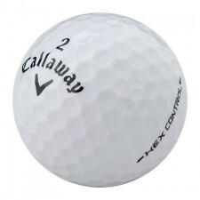120 Callaway Hex Control Near Mint Used Golf Balls AAAA + Free Tee's