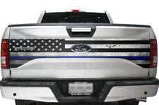 Ford F-150 Truck Bed Tailgate Graphic Wrap Sticker Decal F150 2015-2017 BLUE LNE