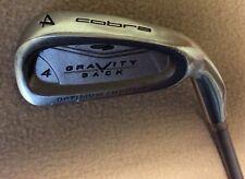 Ladies Cobra Gravity Back Ladies Flex Graphite Shaft RH 4 Iron Golf Club