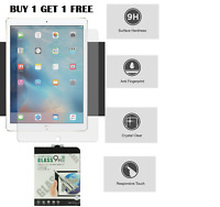 100% Genuine Tempered Glass Screen Protector For Apple iPad Mini 1,2,3 BUY1 GET1