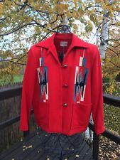 Vintage Chimayo Blanket Jacket Julius Ganscraft Size 16