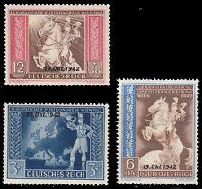 Deutsches Reich 823/25 ** Unterzeichnung Europäischen Post- und Fernmeldeverein