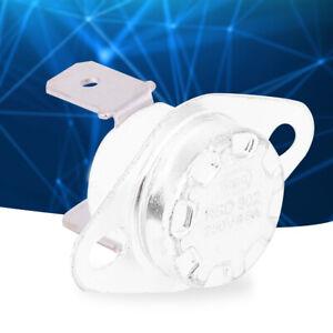 1 Stücke Temperaturschalter Schalter Thermostat Steuerschalter 250V NC 40-180°C