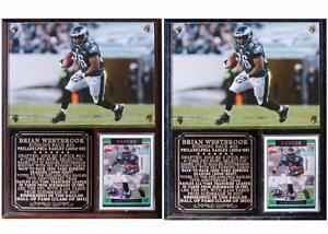 Brian Westbrook #36 Philadelphia Eagles Legend Photo Card Plaque