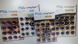 "FISH SKULL   "" Living Eyes ""  # 5 mm  color : WIND"