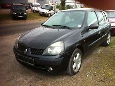 Renault Clio II Tür vorne links komplett in schwarz lack NV676 2003Bj.