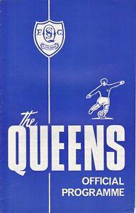 Queen of the South v Hamilton Academical 12 Sep 1970