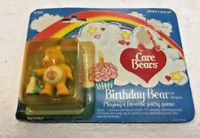 1980's Care Bears BIRTHDAY BEAR miniature playing a favorite party game (61300)