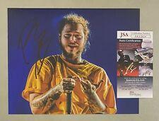 POST MALONE Signed 8x10 Photo Autographed AUTO JSA COA