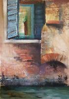 BARRIE BRAY (1940-2015), Cornish artist, Venice IV - a Venetian Canal