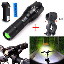 UltraFire 10000LM T6 G700 LED Zoom Focus Flashlight Torch +18650 Battery /W