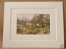 FARM Nr HASLEMERE SURREY VINTAGE DOUBLE MOUNTED PRINT 1912 10 X 8 OVERALL PALMER