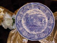 edler Platzteller Pizzateller 31,5 cm Villeroy & Boch Burgenland blau selten N1