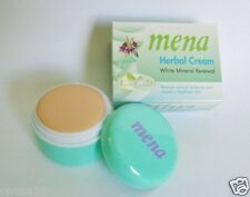 MENA Extra White Herbal Whitening Mineral Renewal Facial Cream 3g./USA Seller