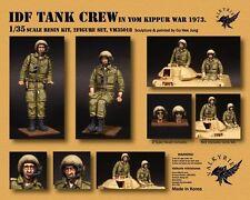 1/35 Escala IDF Tanque Crew en YOM KIPPUR GUERRA 1973