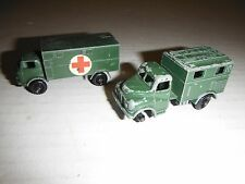 2 LESNEY Military Service Ambulance Ford Austin MK2 Military Radio Truck  No68