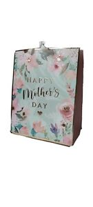 Floral Mother's Day Gift Bags Large Tagged