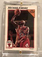 Michael Jordan NBA Hoops 1991 MVP Card 30 RARE VINTAGE GREAT CONDITION CARD