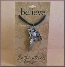 Inspirations Believe Necklace Words of Faith from DEMDACO Free U.S. Shipping