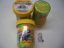 Berkley Power Bait Trout Bait Glitter Rainbow Pellets 3x50g-Glas 100g/6,66€