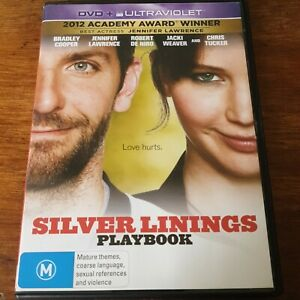 Silver Linings Playbook DVD R4 Like New! FREE POST