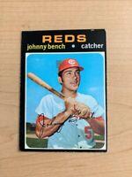 1971 Johnny Bench Topps Baseball Card #250 (Original)