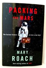 PACKING FOR MARS Mary Roach AUTHOR SIGNED & DATED Hardback w/Dust Jacket MINT