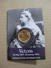 Queen Victoria GOLD sovereign COIN PACK