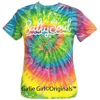 "Girlie Girl Originals ""Salty Soul"" Saturn Tie Dye Short Sleeve T-Shirt"