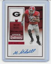 2016 PANINI CONTENDERS DRAFT MALCOLM MITCHELL RED ROOKIE AUTO SIGNATURE PATRIOTS