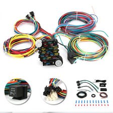 New listing 21 Circuit Universal Wiring Harness For Muscle Car Hot Rod Street Rod Rat Rods