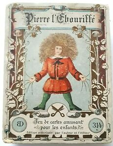 ANTIQUE PLAYING CARDS RARE B DONDORF No314 PIERRE L'EBOURIFFE 36 CARDS GAME 1890