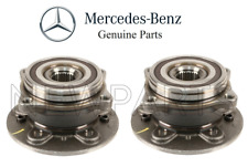 For Mercedes W166 GLE350 ML350 Set of 2 Front Axle Bearings & Hubs Assembly OES