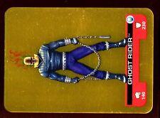 LAMINCARDS MARVEL HEROES 2008 CARTE Dorée N° 141 GHOST RIDER LE CAVALIER FANTOME