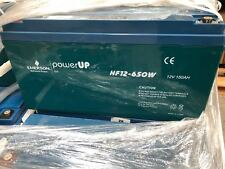 USED EMERSON HF12-650W 12V 150Ah AGM Battery for Solar Off Grid System