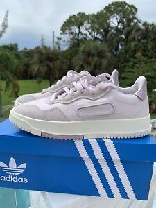 Adidas Women's Originals  SC Premiere Shoes Size 5.5 Orchid Tint/ Soft Vision