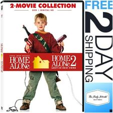 Home Alone DVD 1 and 2 Movie Collection Color Dolby Dubbed Subtitled Widescreen