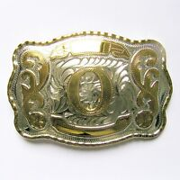 "NEW INITIAL "" O ""  RODEO BIG COWBOY WESTERN BELT BUCKLE"