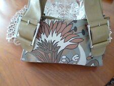 Women's Next Handbag Tan/Linen cloth pattern